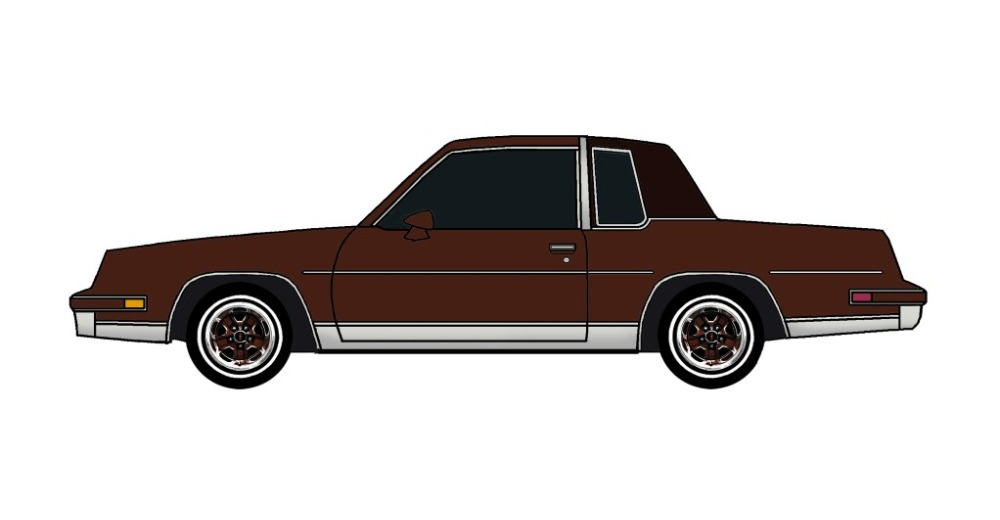 1982 Oldsmobile Cutlass CHOCOLATE