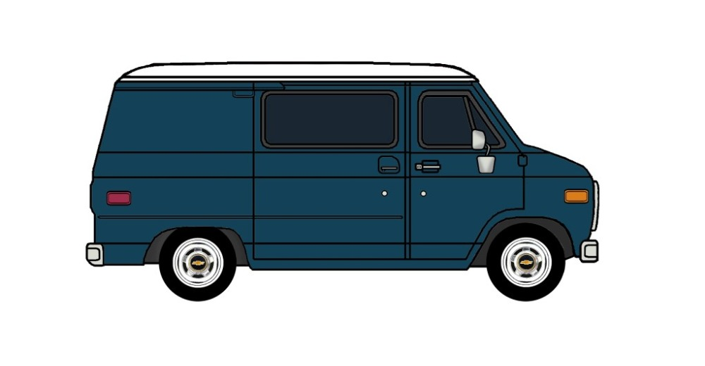 1978-82 Chevy G10 MIDNIGHT BLUE
