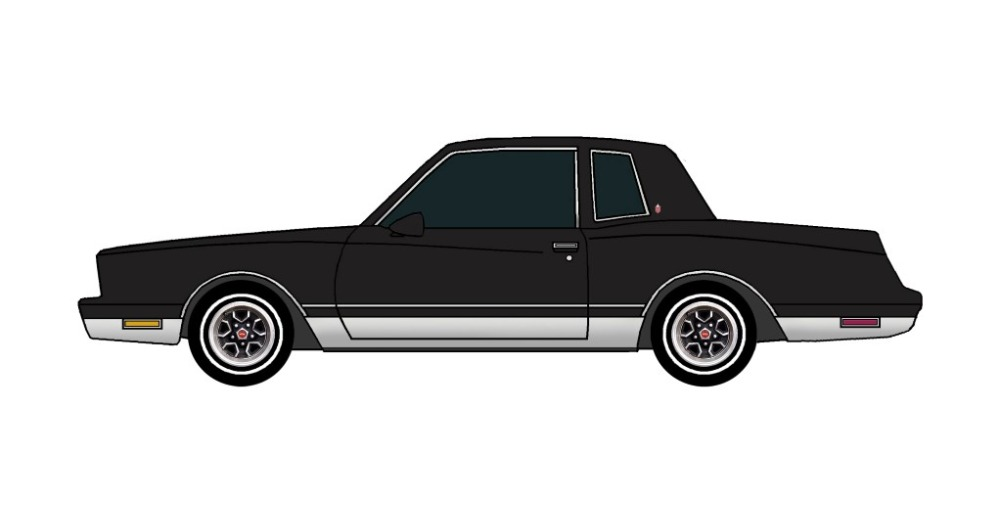 1981 Chevy Monte Carlo BLACK