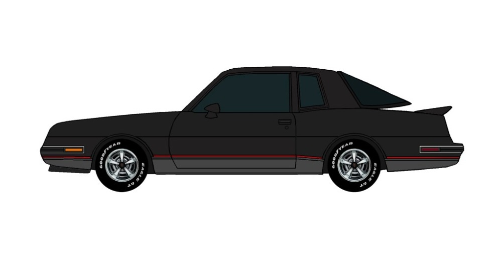 1986 Pontiac Grand Prix 2+2 BLACK