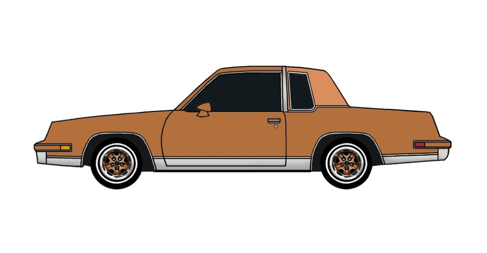 1986 Oldsmobile Cutlass COPPER