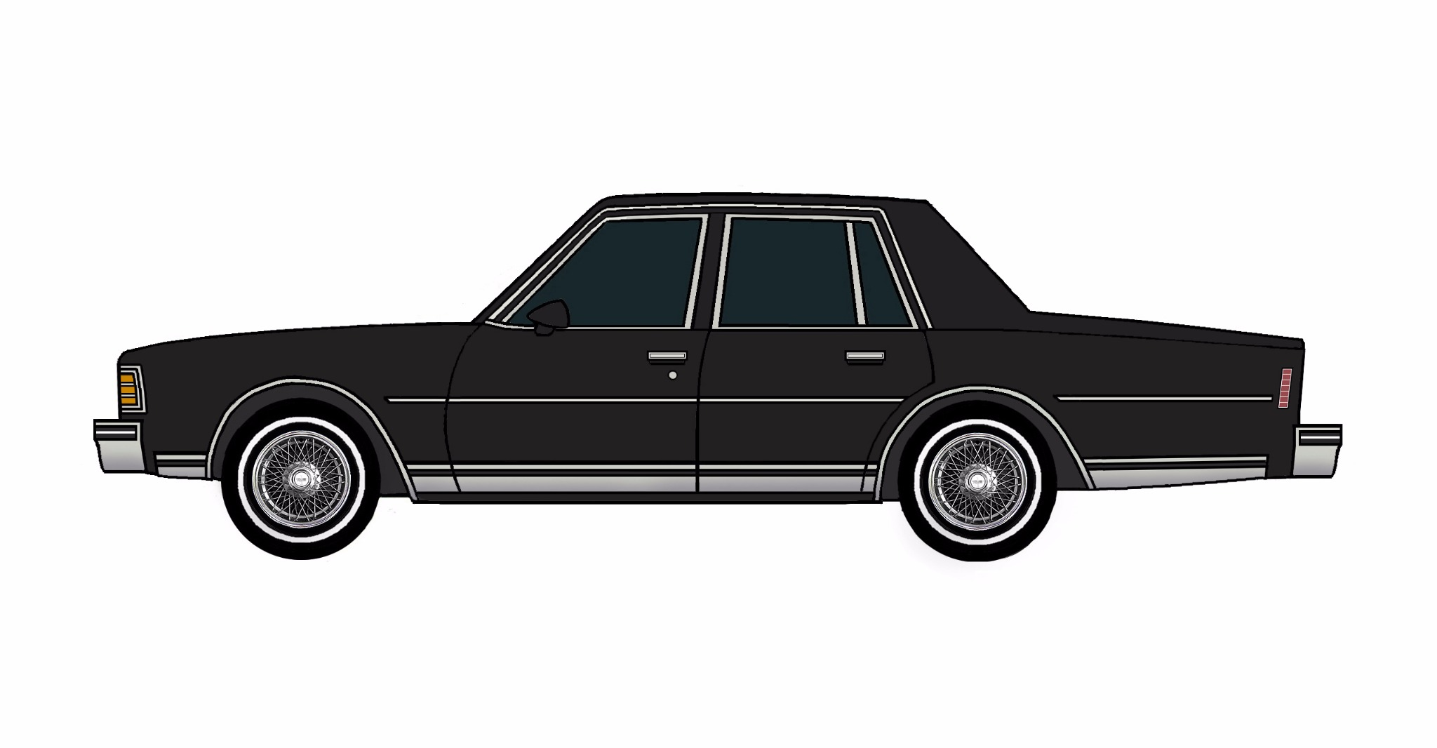 1979 Chevy Caprice BLACK