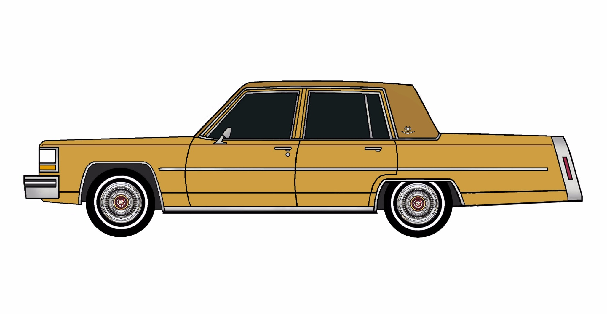 1981 Cadillac Deville INDIAN YELLOW