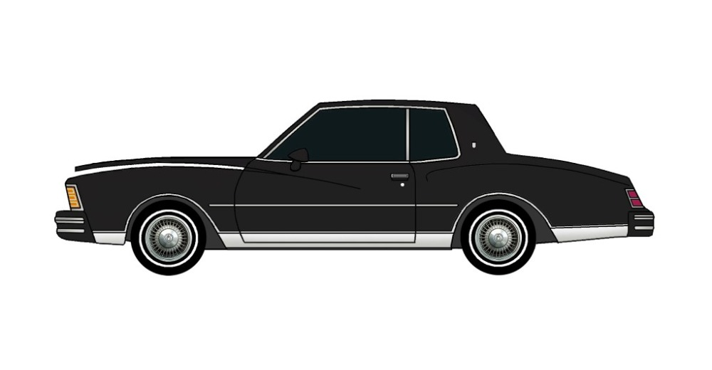 1979 Chevy Monte Carlo BLACK