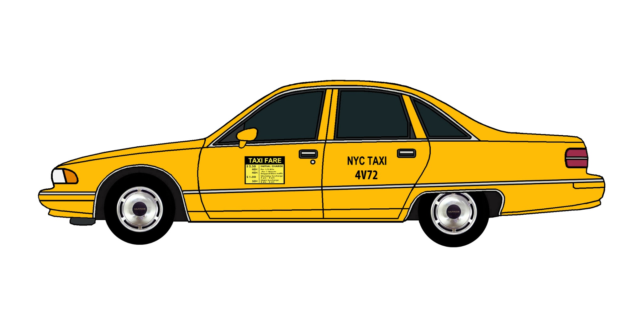 1992 Chevy Caprice NYC TAXI