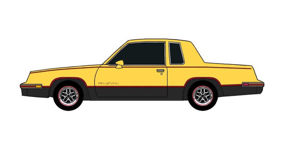 1984 Oldsmobile Cutlass 442 CANARY YELLOW