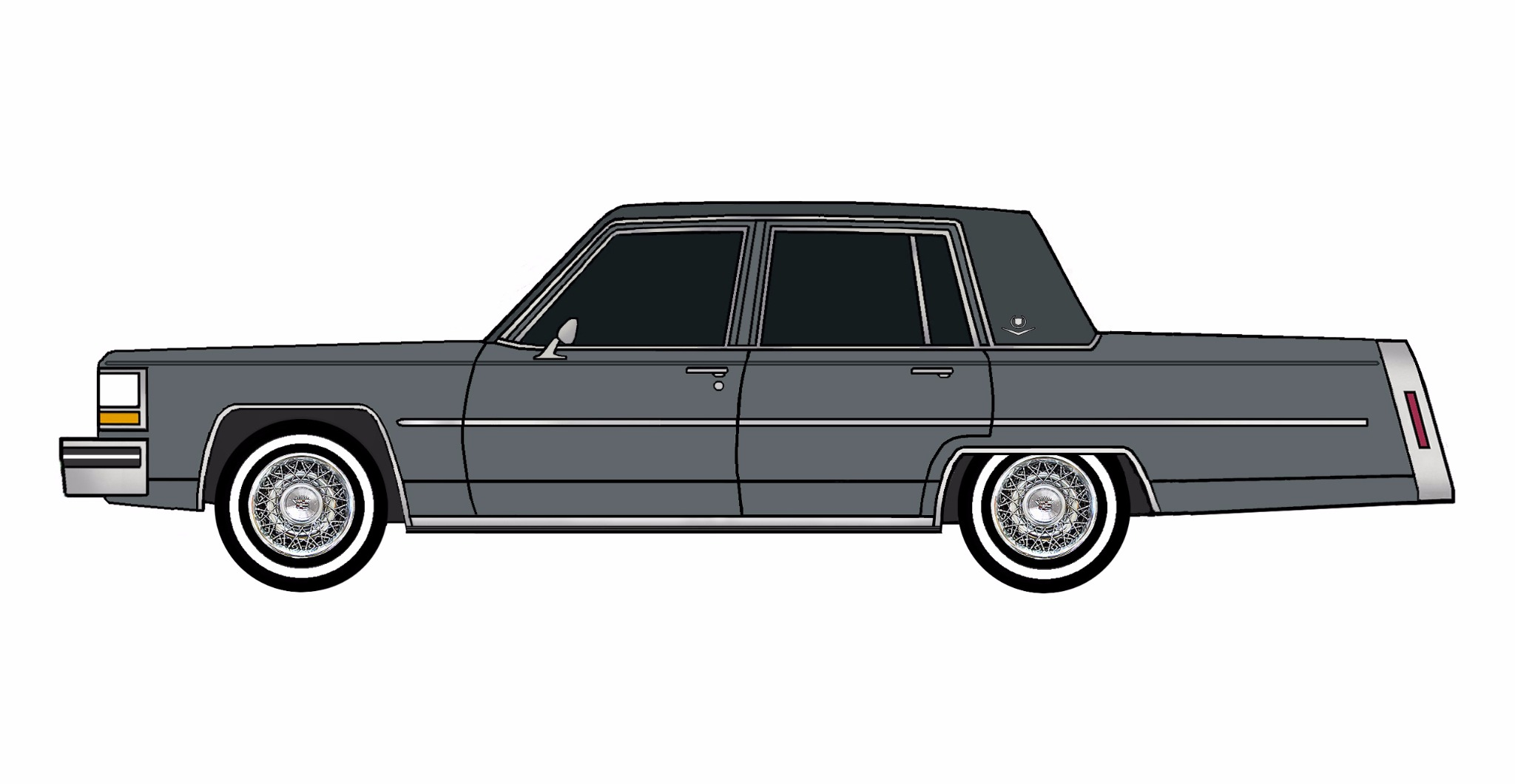 1980 Cadillac Deville CHARCOAL