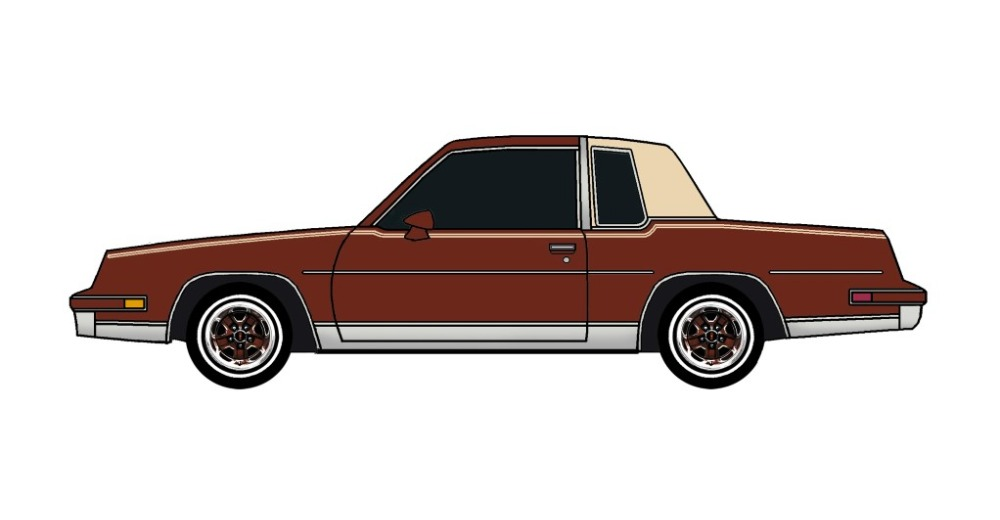 1981 Oldsmobile Cutlass TUSCAN BROWN