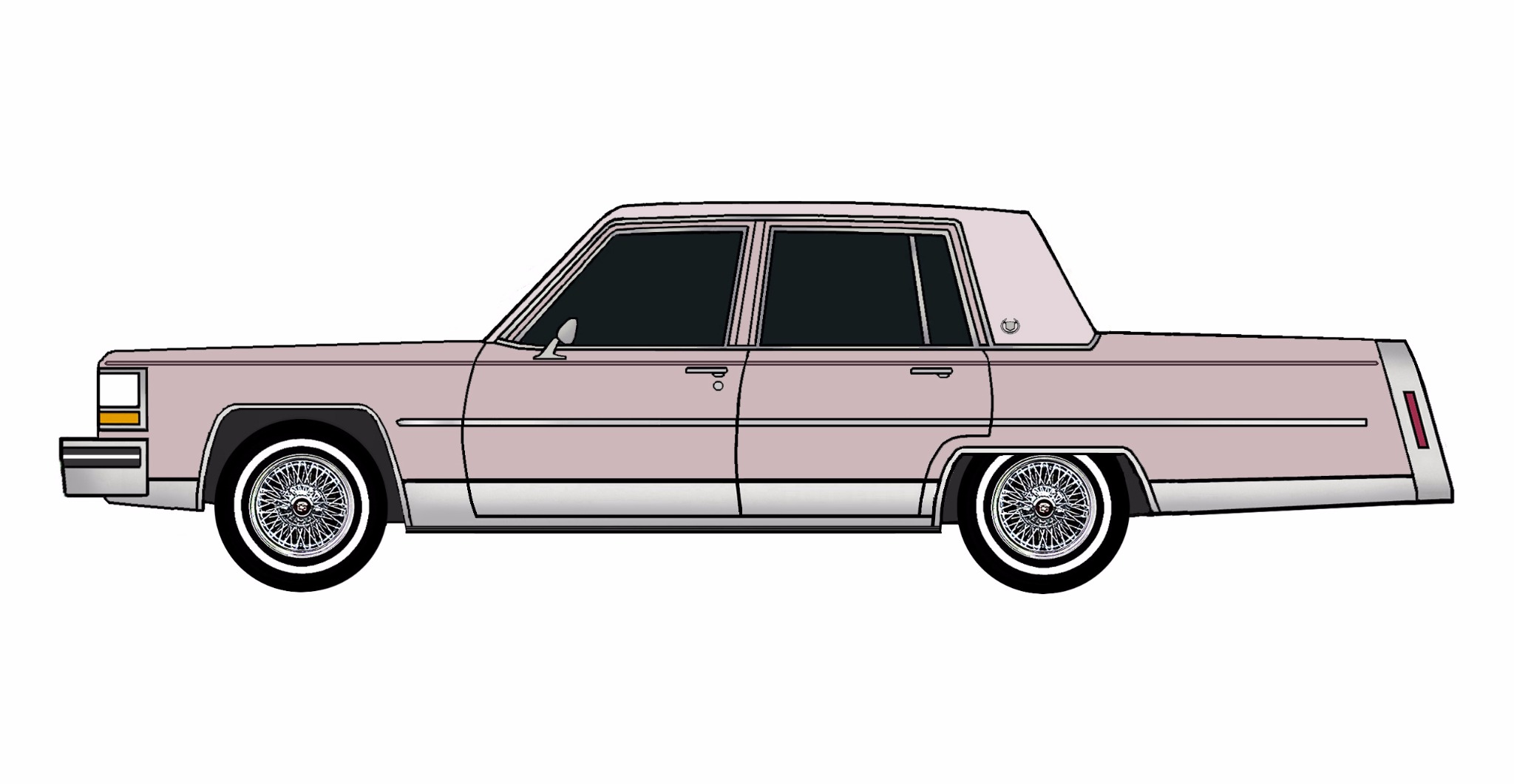 1984 Cadillac Fleetwood Brougham LAVENDER MIST