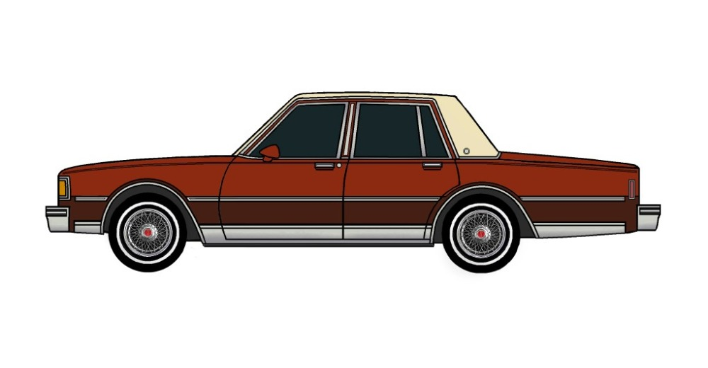 1983 Pontiac Parisienne DARK CARAMEL & CHOCOLATE