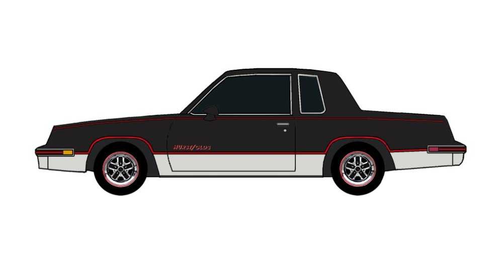 1984 Oldsmobile Cutlass 442 BLACK