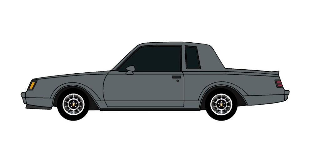 1987 Buick Grand National CHARCOAL
