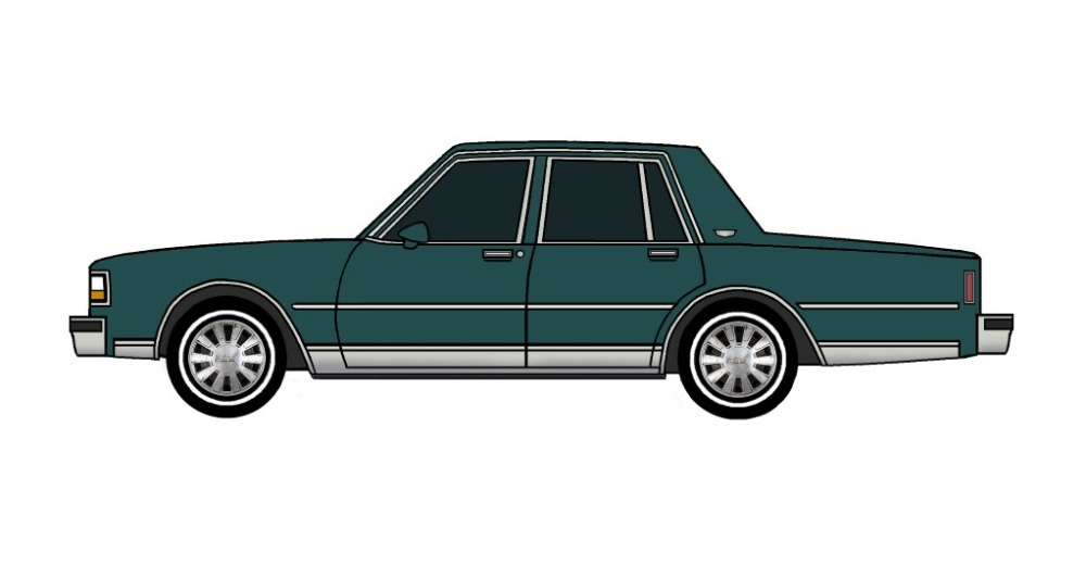 1988 Chevy Caprice TEAL