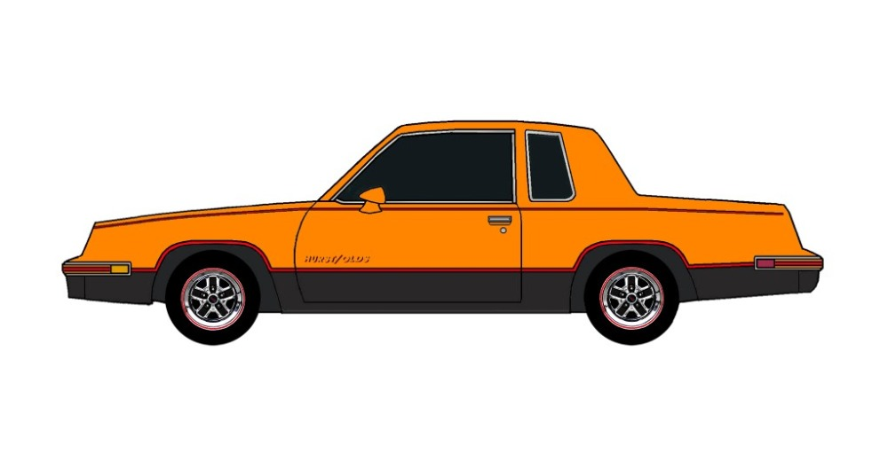 1984 Oldsmobile Cutlass 442 BRIGHT ORANGE
