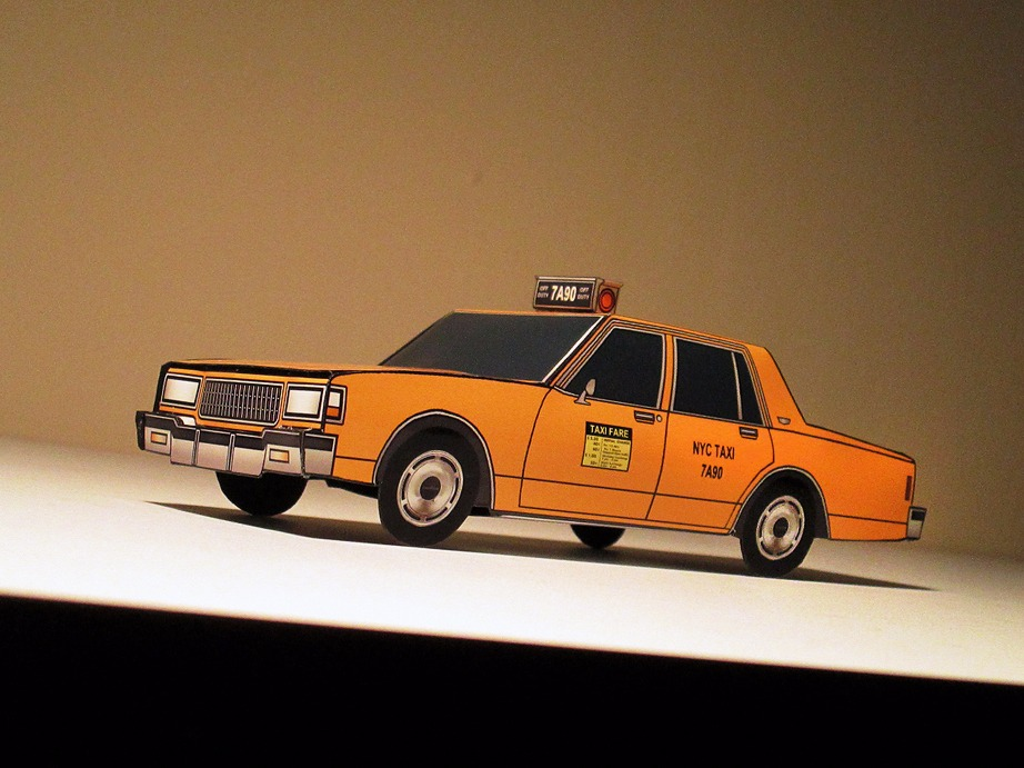 1987 Chevy Caprice NYC Taxi