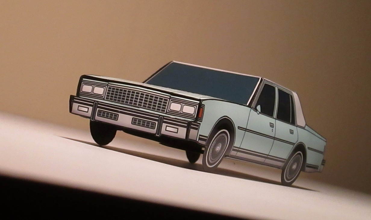 1978 Chevy Caprice PALE BLUE