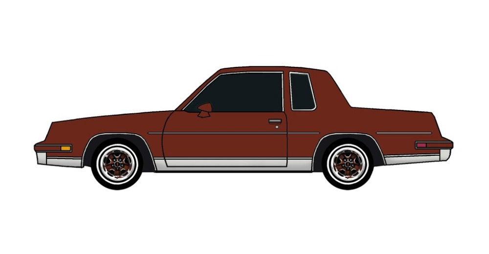 1985 Oldsmobile Cutlass TUSCAN BROWN