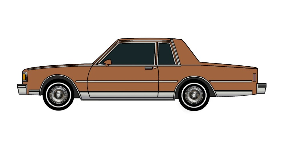 1985 Chevy Caprice Coupe SIENNA BROWN
