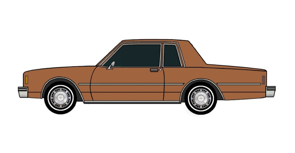 1981 Chevy Impala Coupe SIENNA BROWN