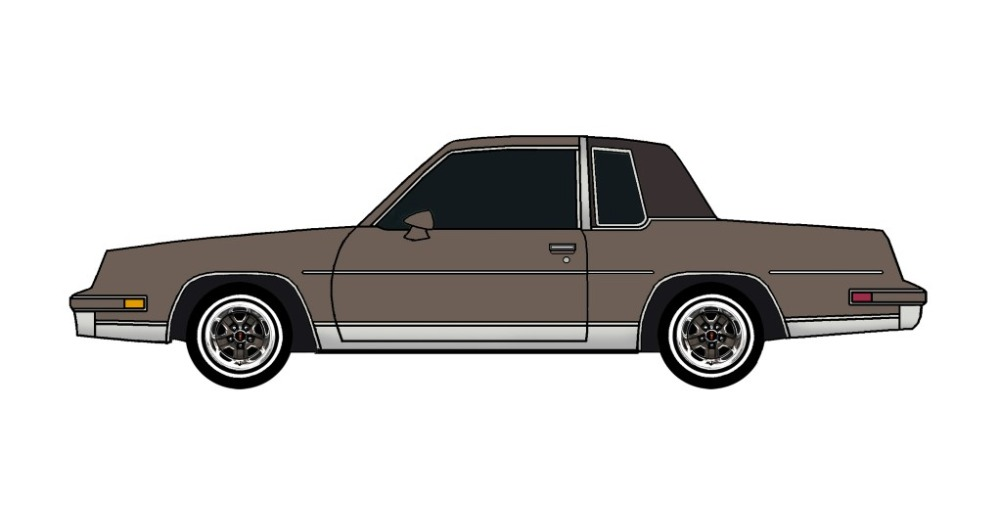 1984 Oldsmobile Cutlass FRENCH GREY