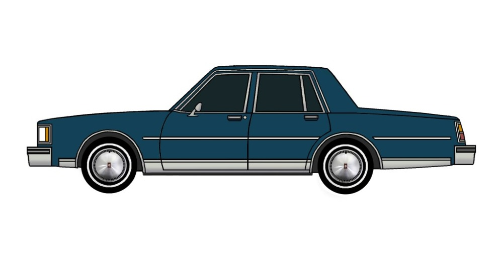 1984 Oldsmobile Delta 88 MIDNIGHT BLUE