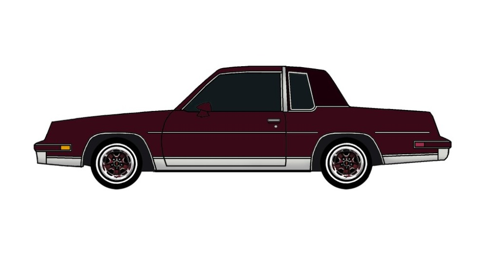 1984 Oldsmobile Cutlass MAROON