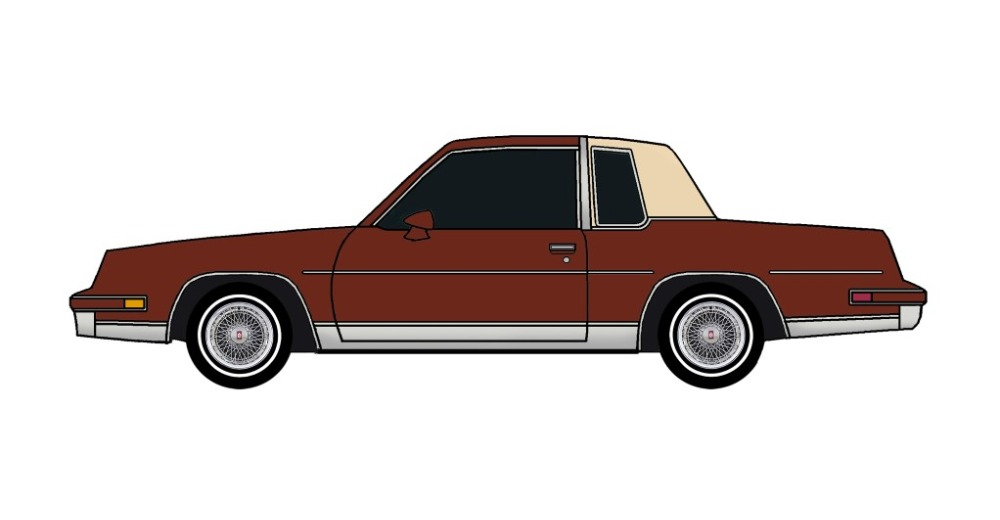 1982 Oldsmobile Cutlass Calais TUSCAN BROWN