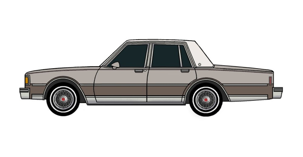 1983 Pontiac Parisienne FRENCH GREY