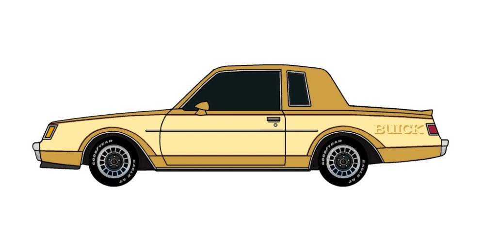 1982 Buick Grand National INDIAN YELLOW & BUTTERMILK