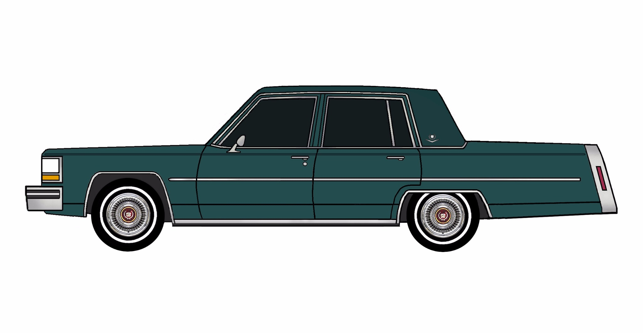 1981 Cadillac Deville TEAL