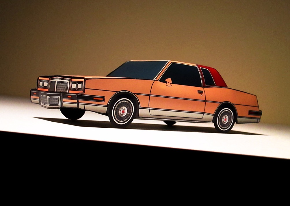 1986 Pontiac Grand Prix MANDARIN ORANGE