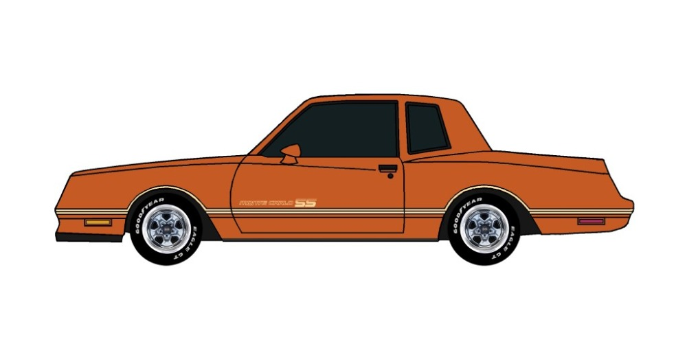 1984 Chevy Monte Carlo SS MANDARIN ORANGE