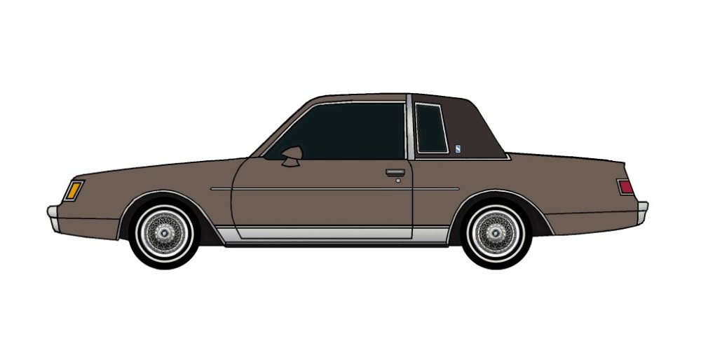 1981 Buick Regal FRENCH GREY