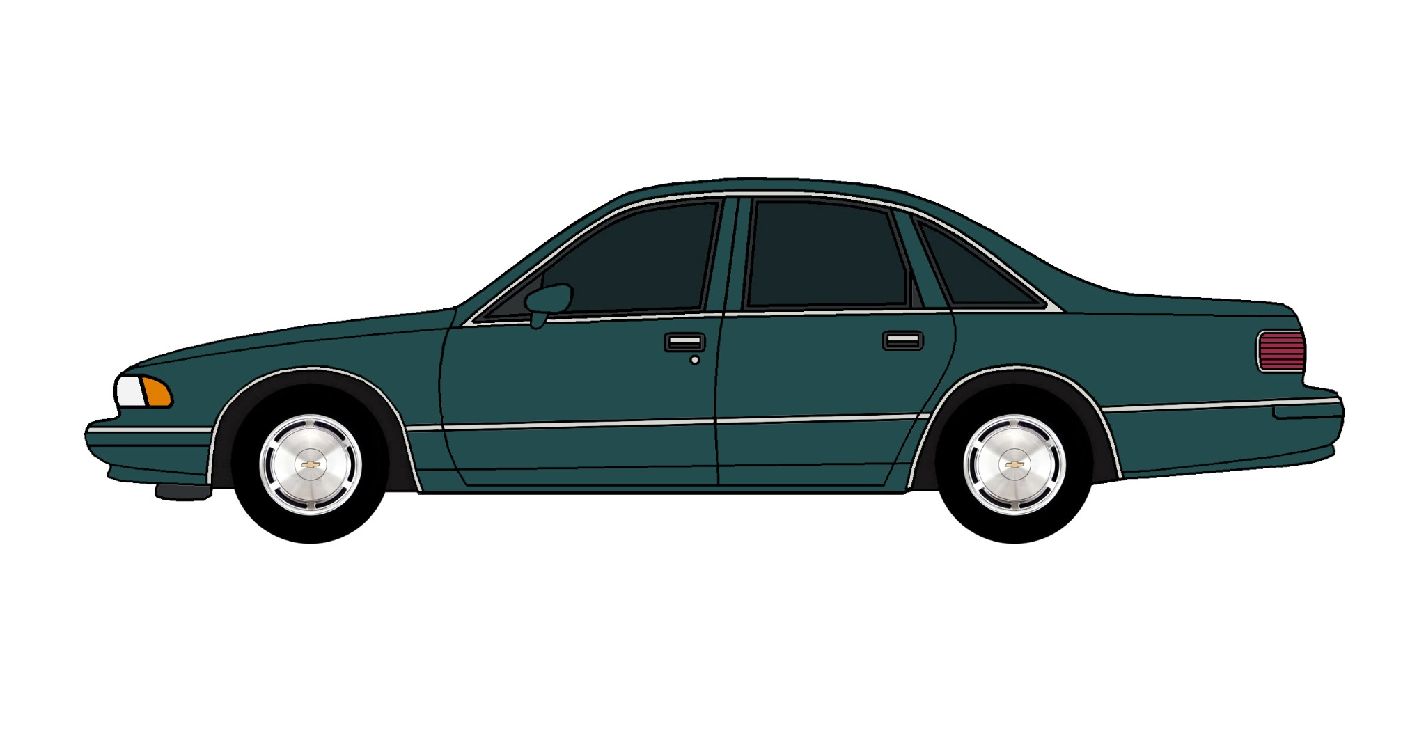 1994 Chevy Caprice TEAL