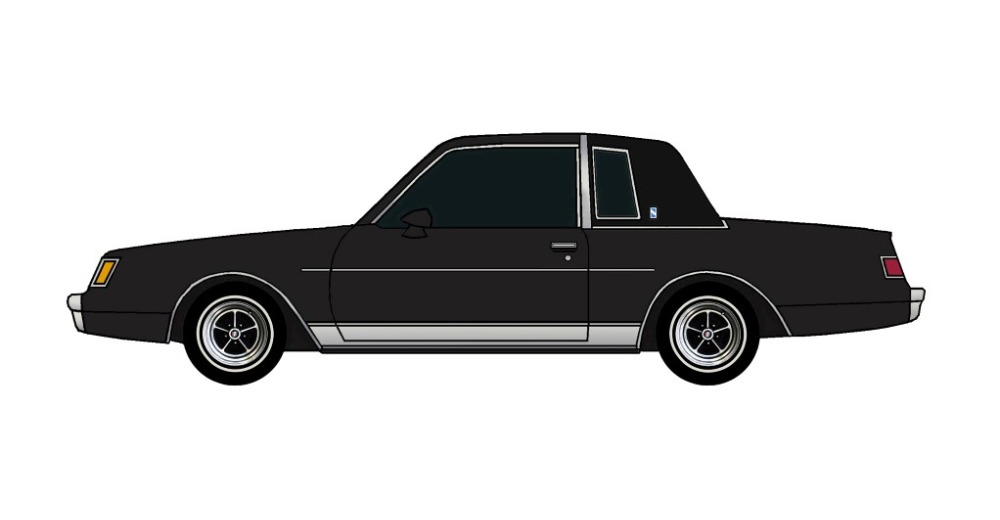 1981 Buick Regal BLACK