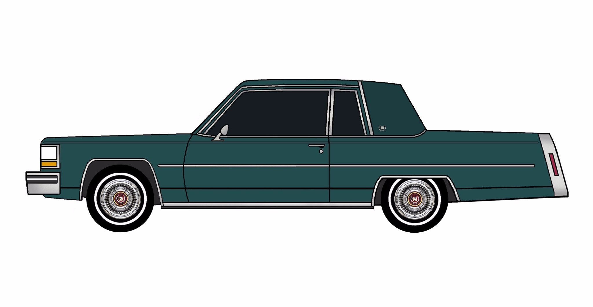 1981 Cadillac Coupe Deville TEAL