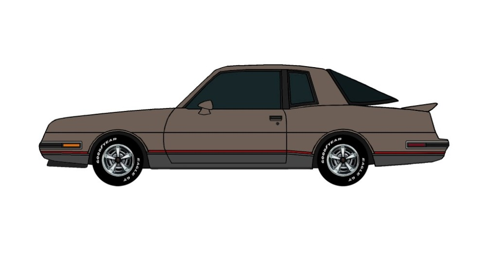 1986 Pontiac Grand Prix 2+2 FRENCH GREY