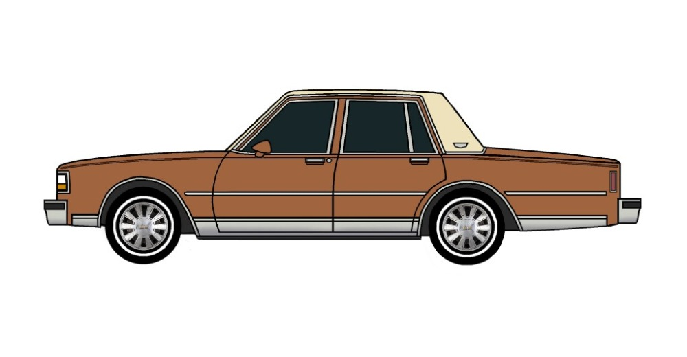 1988 Chevy Caprice Brougham SIENNA BROWN