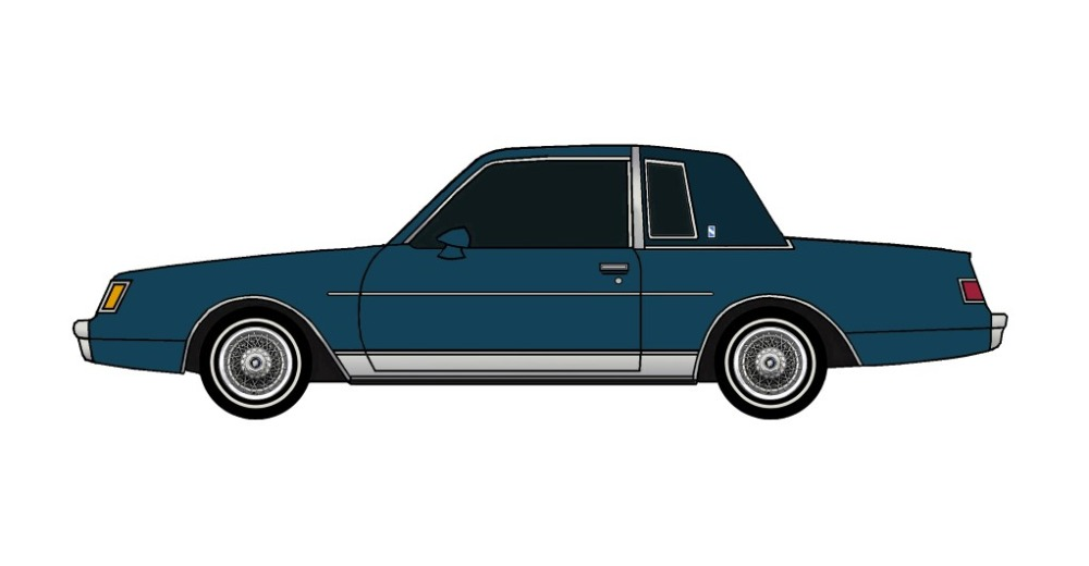 1981 Buick Regal MIDNIGHT BLUE