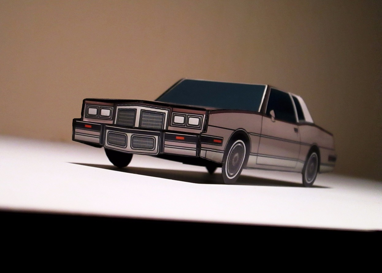 1986 Pontiac Grand Prix BRONZE & BLACK