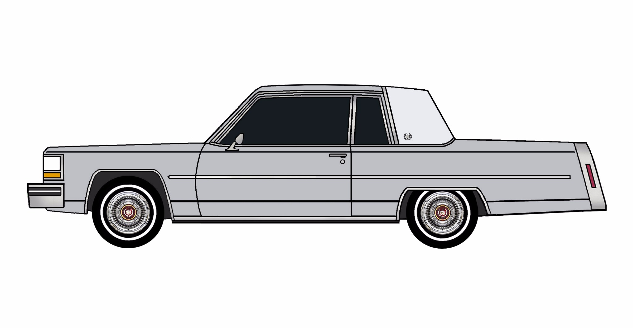 1981 Cadillac Coupe Deville LILAC GREY