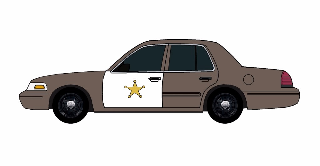 2011 Ford Crown Victoria Police Car FRENCH GREY