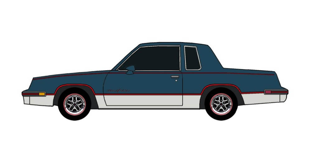 1984 Oldsmobile Cutlass 442 MIDNIGHT BLUE