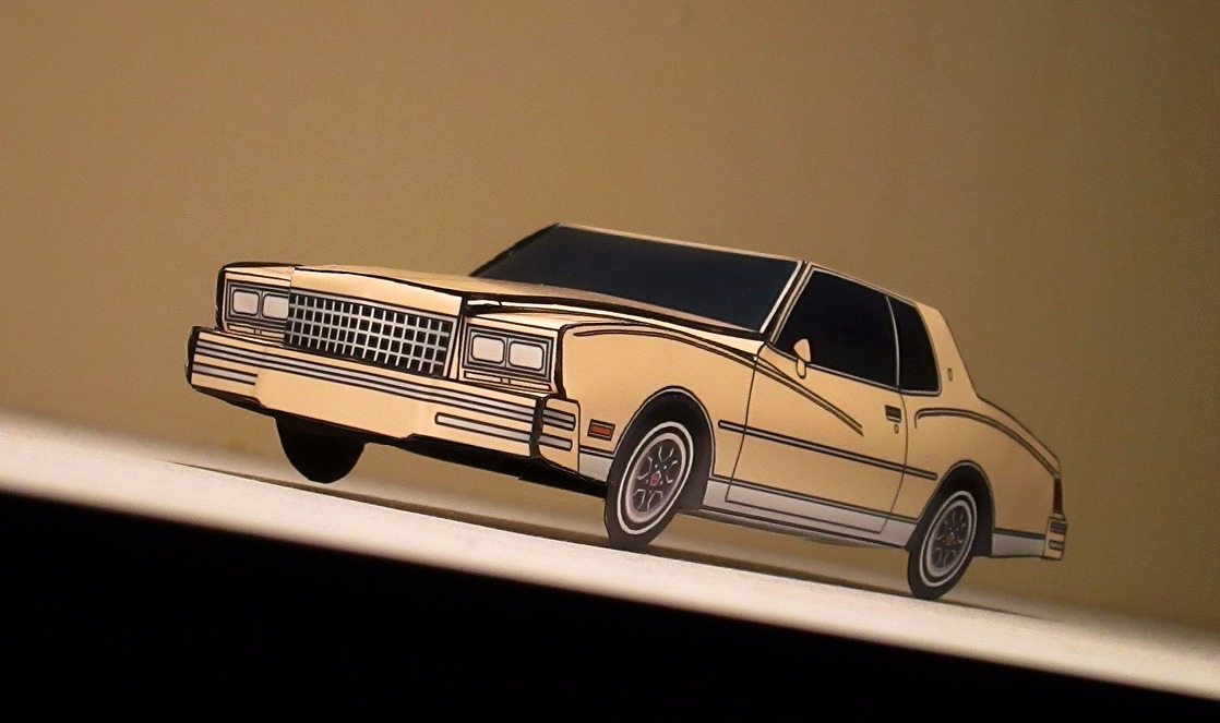 1980 Chevy Monte Carlo FRENCH GREY