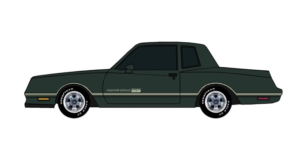1984 Chevy Monte Carlo SS DARK EVERGREEN
