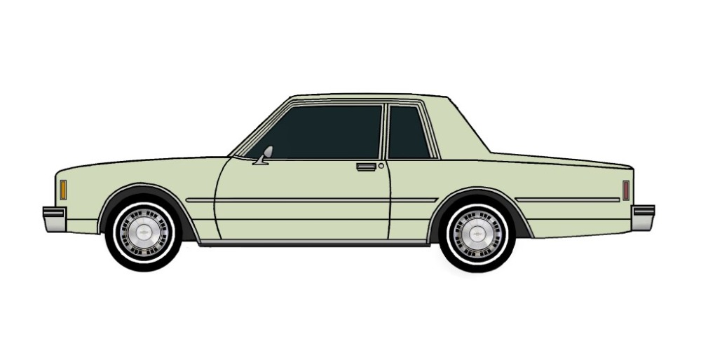1981 Chevy Impala Coupe SAGE GREEN