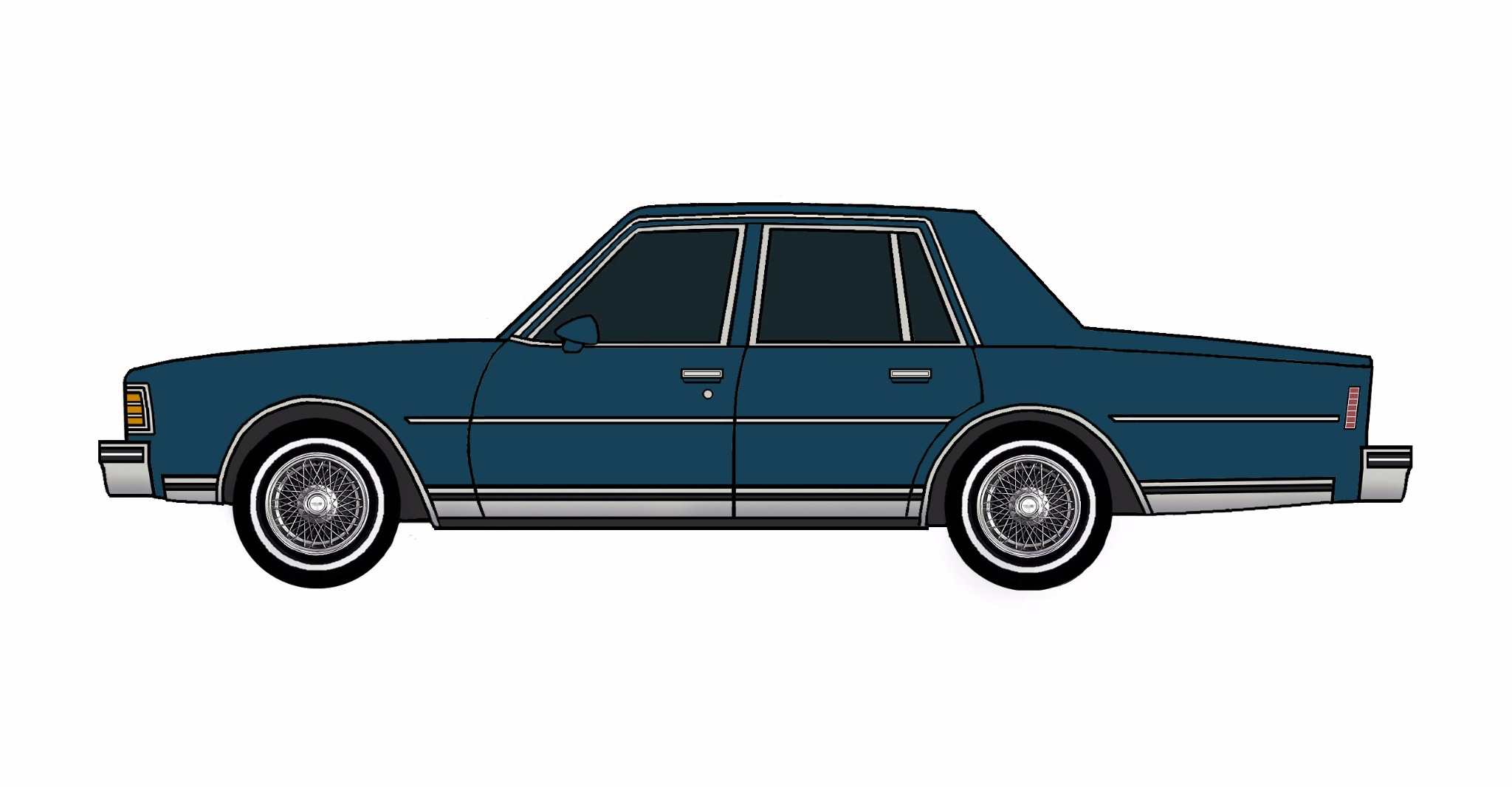 1979 Chevy Caprice MIDNIGHT BLUE