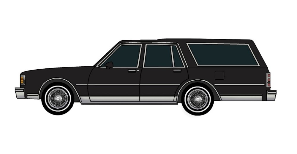 1980 Chevy Caprice Wagon BLACK