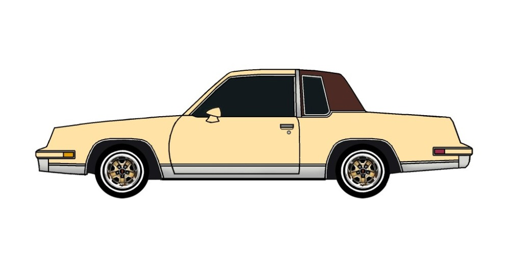 1986 Oldsmobile Cutlass FRENCH VANILLA