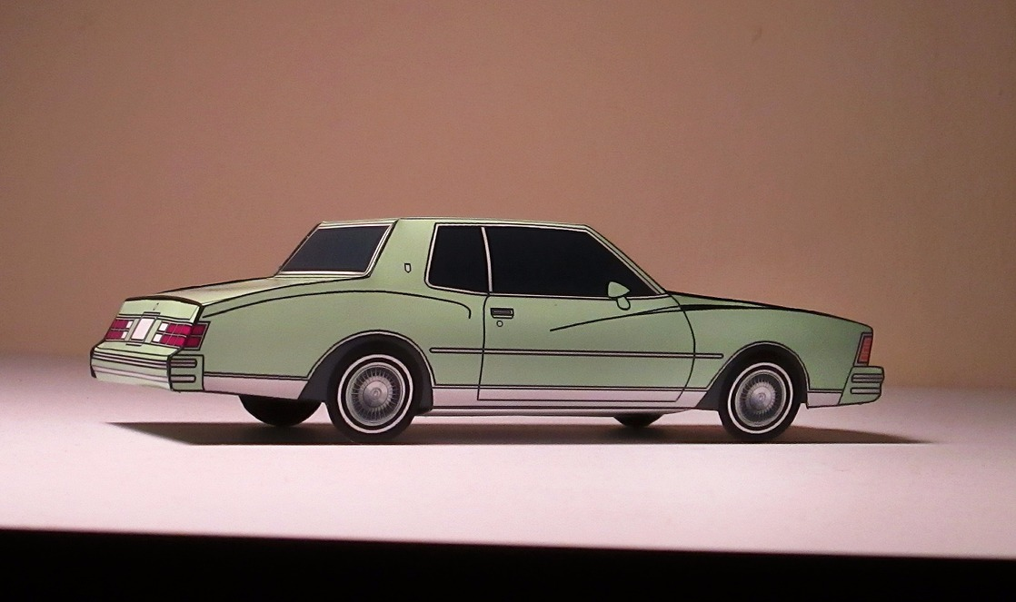 1979 Chevy Monte Carlo FRENCH GREY